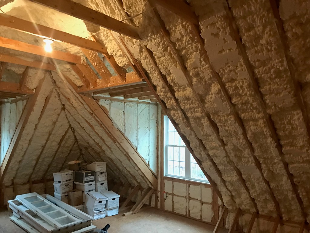 Attic Spray Foam insualtion (5)