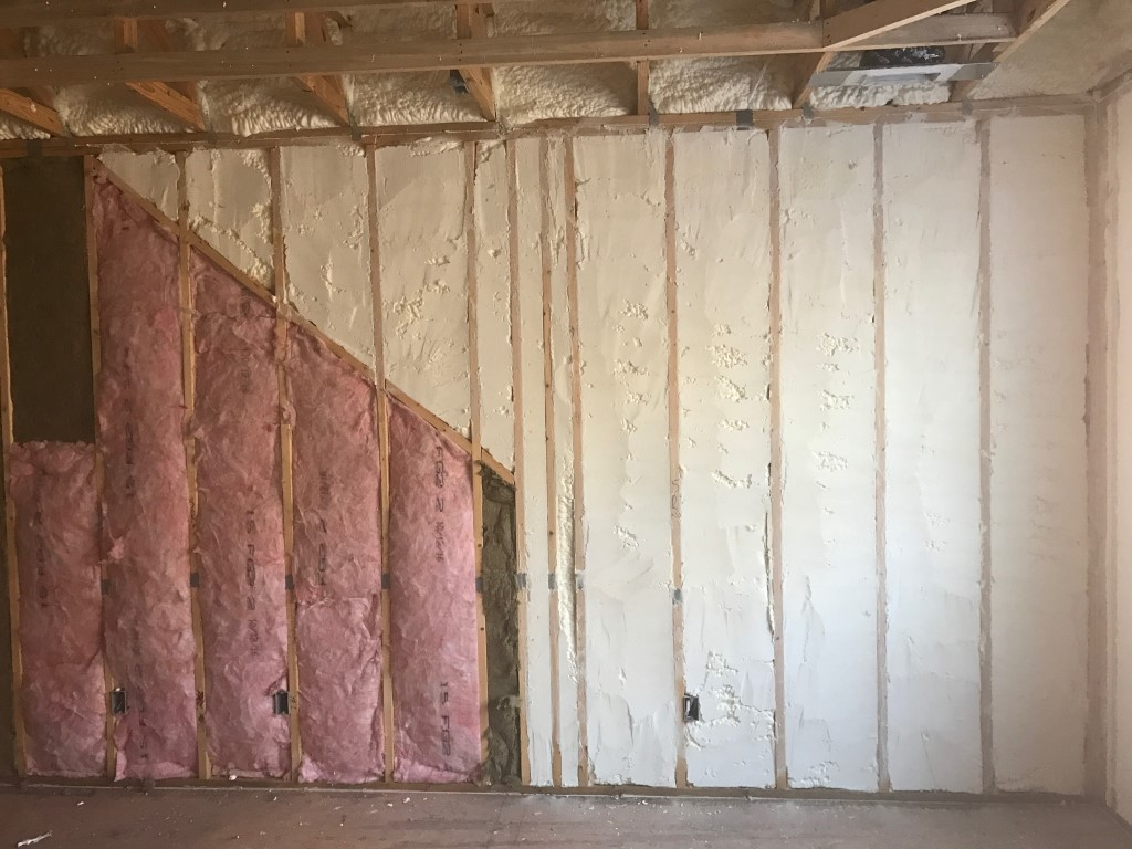 Spray foam insulation New Construction (11)