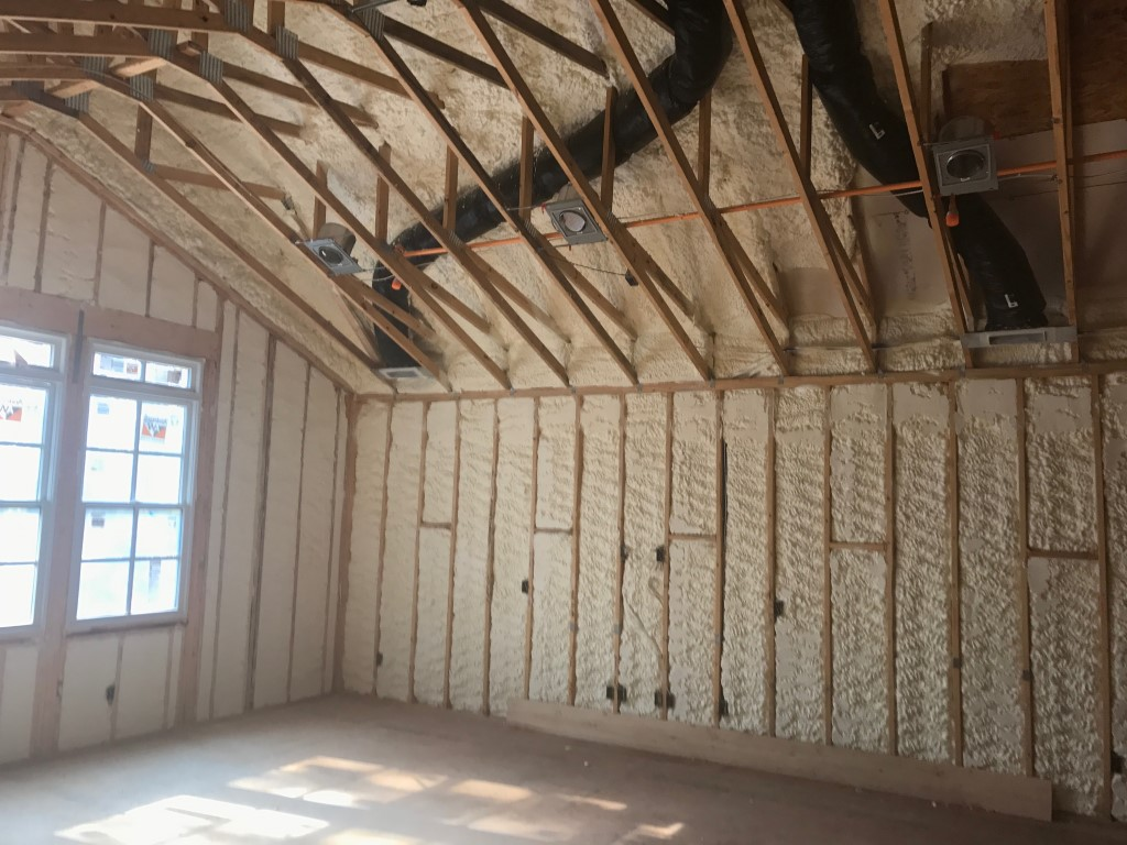 Spray foam insulation New Construction (13)