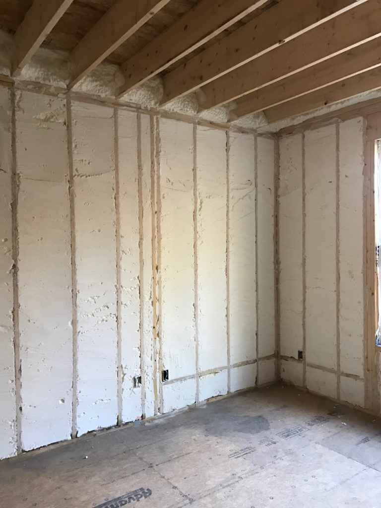 Spray foam insulation New Construction (14)