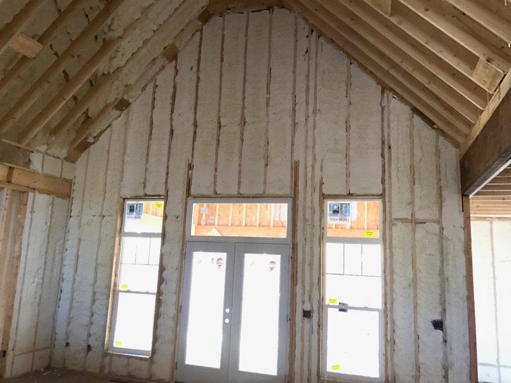 Spray foam insulation New Construction (15)