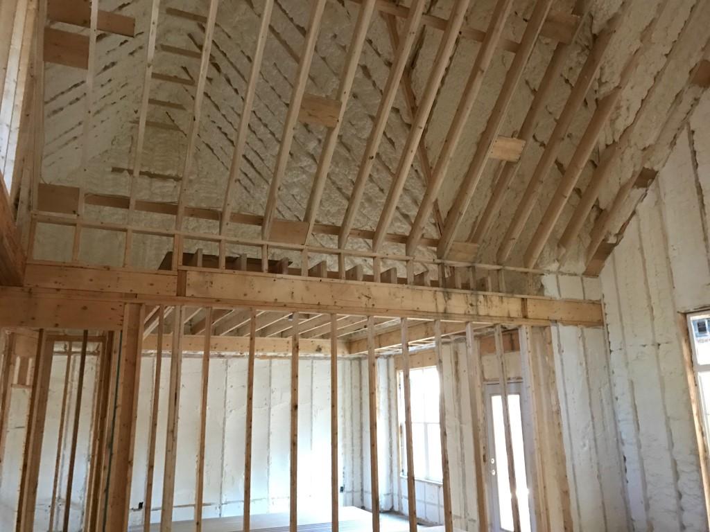 Spray foam insulation New Construction (16)