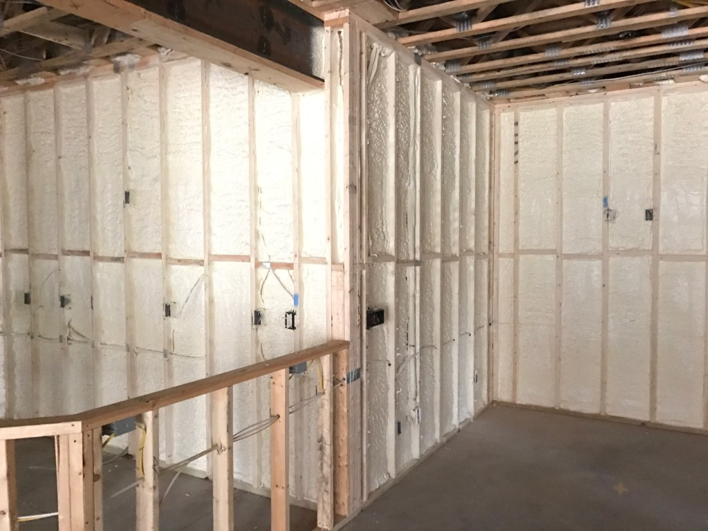Spray foam insulation New Construction (17)