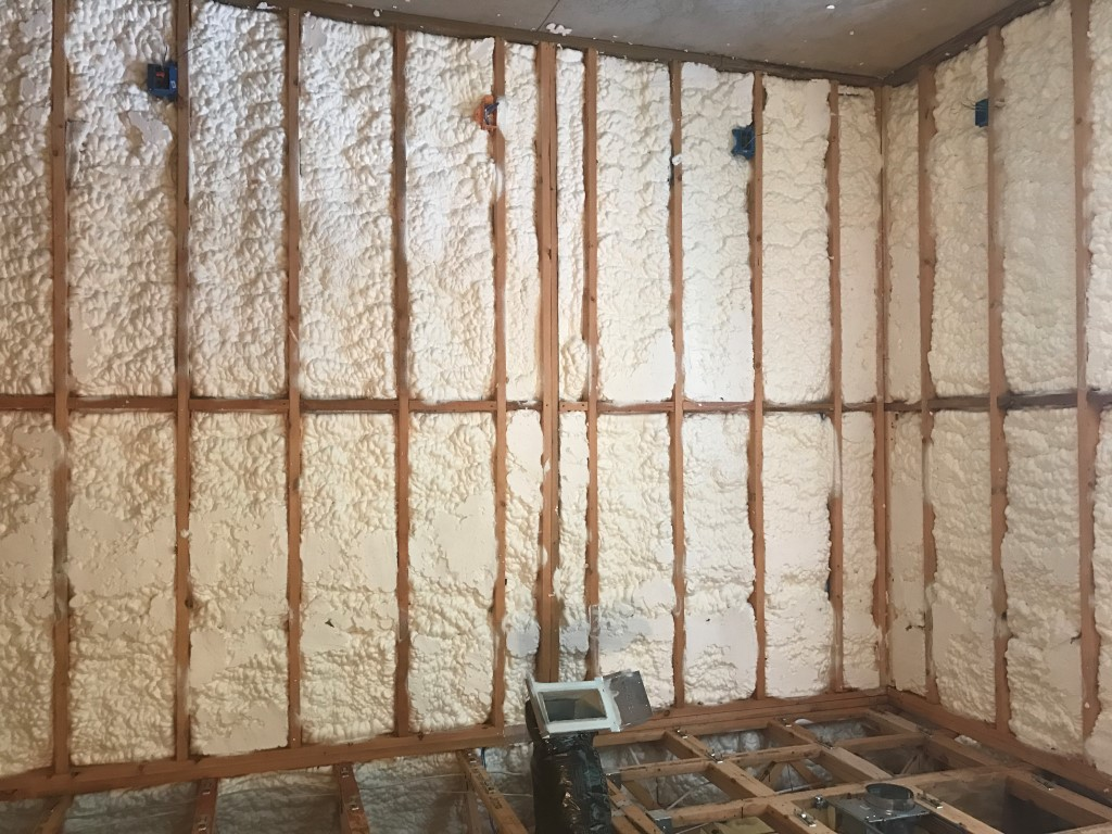 Spray foam insulation New Construction (20)