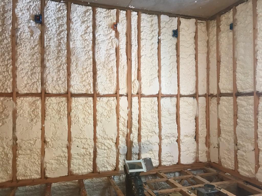 Spray foam insulation New Construction (20)