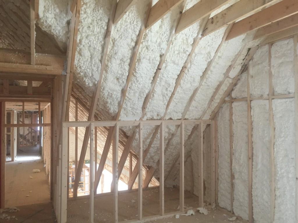 Spray foam insulation New Construction (21)
