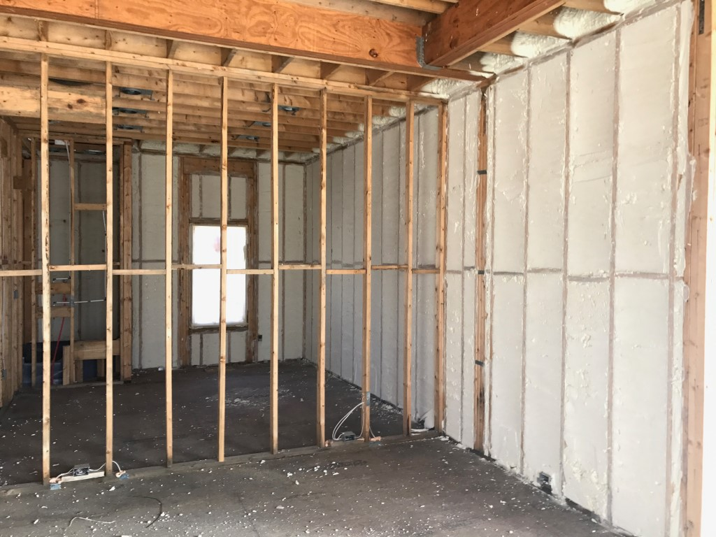 Spray foam insulation New Construction (23)