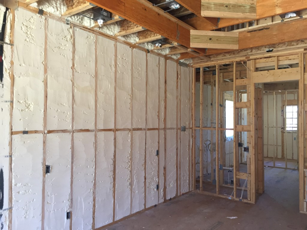 Spray foam insulation New Construction (27)
