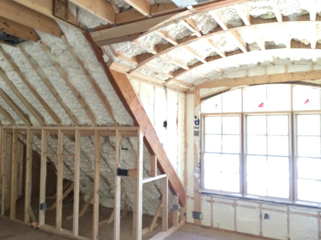 Spray foam insulation New Construction (28)