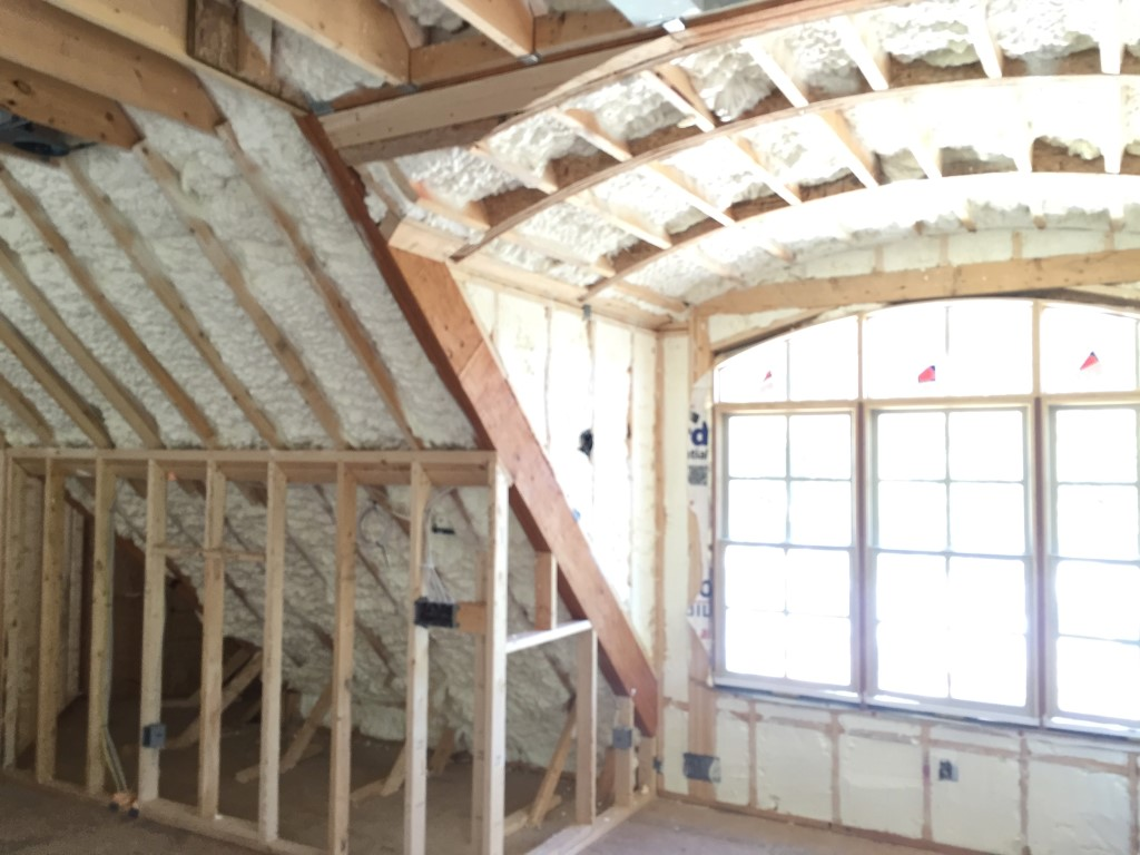Spray foam insulation New Construction (29)
