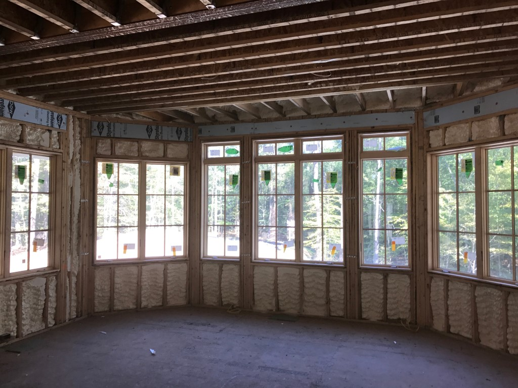 Spray foam insulation New Construction (3)