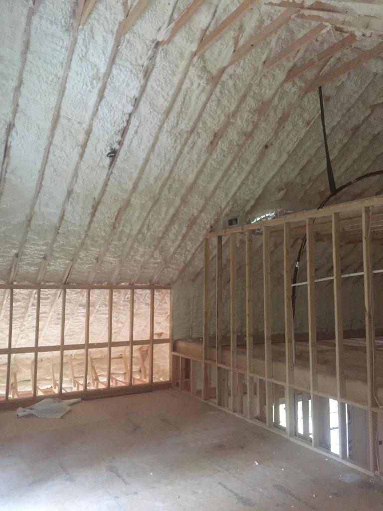 Spray foam insulation New Construction (30)