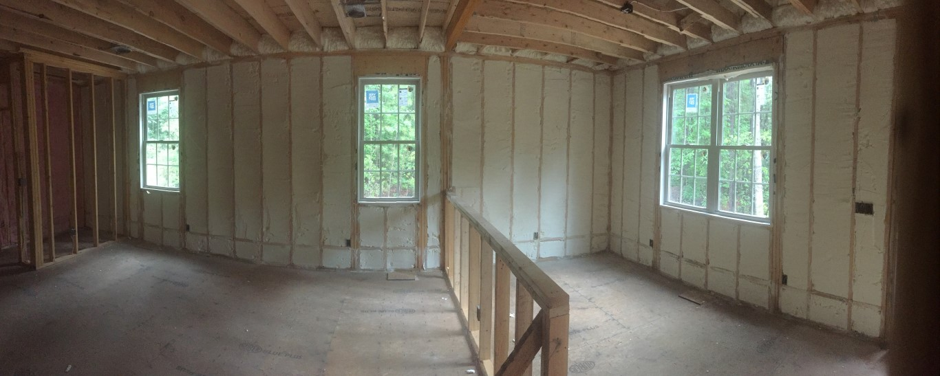Spray foam insulation New Construction (32)