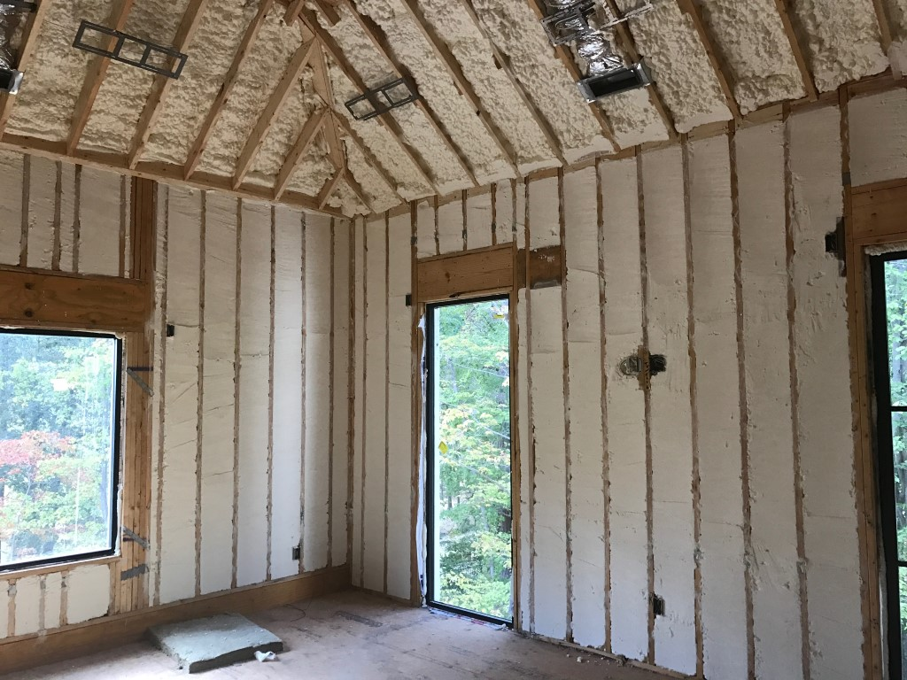 Spray foam insulation New Construction (4)