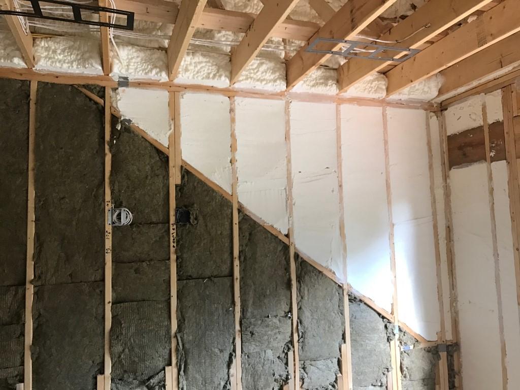 Spray foam insulation New Construction (6)