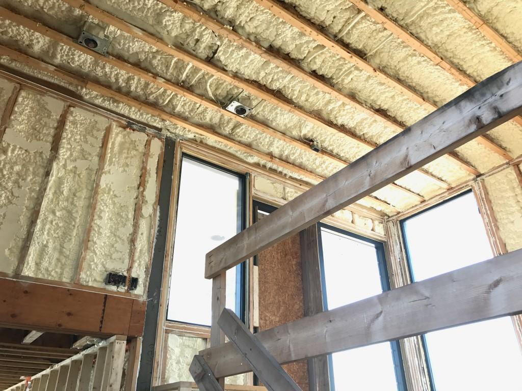 Spray foam insulation New Construction (7)