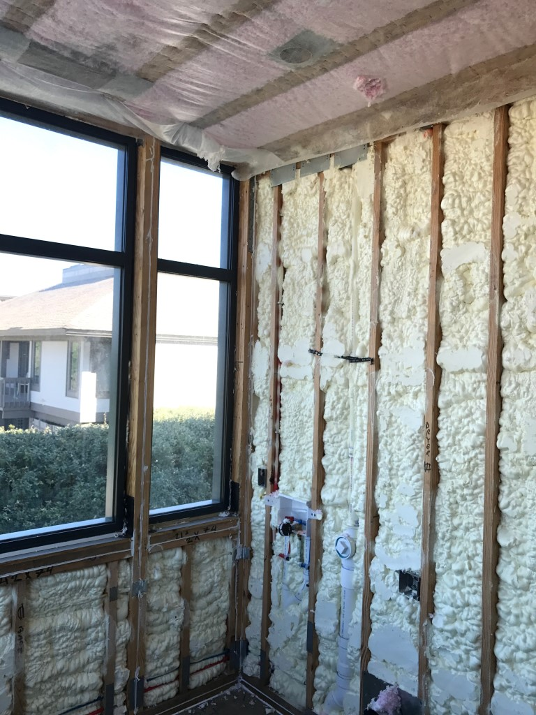 Spray foam insulation New Construction (8)