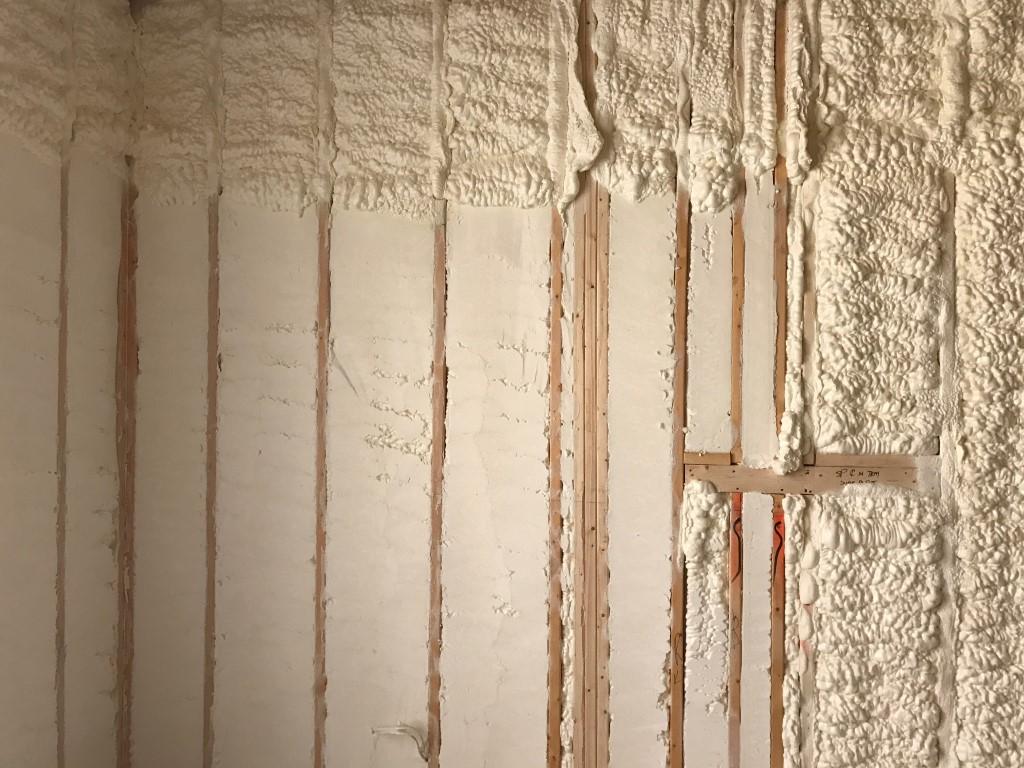 Spray foam insulation New Construction (9)